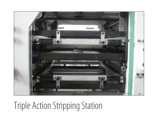 Triple Action Stripping Station