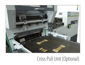 Cross pull unit (optional)