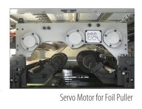 Servo Motor for Foil Puller