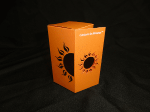 Sun box made using CartonsinMinutes