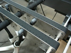 Vacuum belt drives