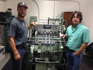 Williams Printing install Kluge EHDR Press