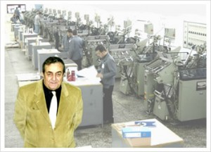 Pictured: Yucel Aykut, Factory Manager, Ipek Printing Corporation