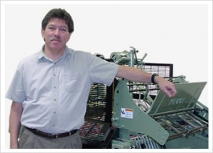 Pictured: Frank Shear, President, Seaboard Bindery, Inc.