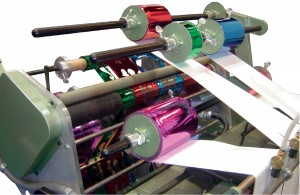 Kluge EHS Press Electronic Foil Control System