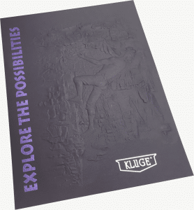 explore possibilities embossed folder