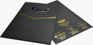 kluge folder with foils