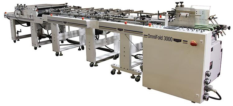 OmniFold 3000 configured for converting cartons and boxes