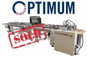 Optimum Bindery acquires a new Kluge OmniFold 3000