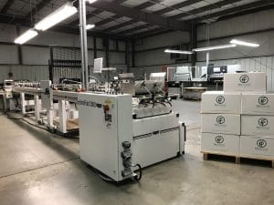 FEY PRINTING INCREASES CAPABILITIES WITH A KLUGE FOLDER GLUER