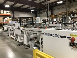 MILLENNIUM PRESS INCREASES PRODUCTION WITH A KLUGE FOLDER GLUER
