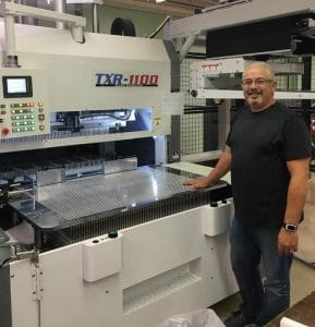 General Press Expands Production with a TXR-1100 Series Blanking System