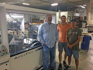 Post Press Specialties installs a Kluge ApexFoil™ Foil Stamper