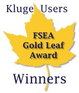 Kluge Users Recognized at the 25th Annual FSEA Gold Leaf Awards