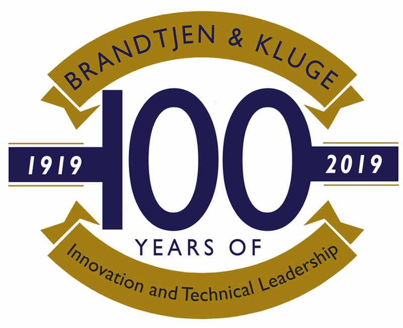 Kluge 100 years logo